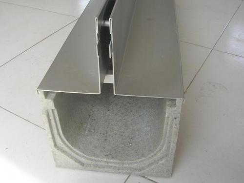 中缝304不锈钢盖板排水沟